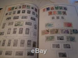 1 loaded Minkus Supreme Global Stamp Album #5 of 8 Ma-No many stamps collection