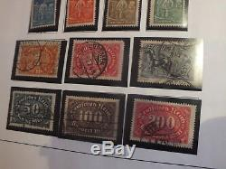 10 ALBUMS 1859-1970 DAVOS GERMAN GERMAN STATES Gents Stamp Collection NEW PICS