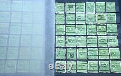 1000+ USA Precancel Collection Album Stamps Postage