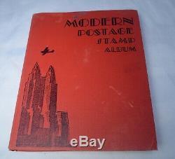 1200+ MODERN Stamp Album WORLDWIDE Postage Collection Incomplete
