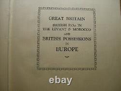 1840-1928 GB, British Commonwealth collection Imperial Stanley Gibbons Album TZ