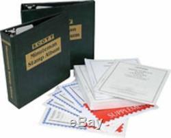 1840-2015 Scott Minuteman United States Stamp Collection Albums & Supplement Kit