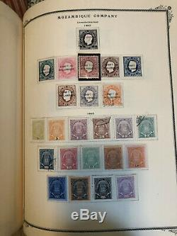 1853-1965 Portugal And Colonies Complete Collection In Loaded Specialty Album