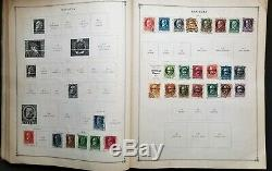 1930 International postage Album Junior Edition World wide collection + Stamps