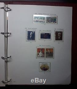 1939 1983 Stamps of Canada Album, Great Collection, 90% Complete, Toning, #496