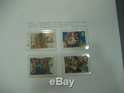 1953 1974 Plain & Phosphor Mnh Commemorative Stamp Collection Collecta Album