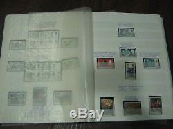 1953-1980 Plain & Phosphor Commemorative Stamp Collection Lindner Album