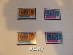 1957-1970 Comms Collection In Album Both Ord & Phosphor 98% Complete 99% Umm