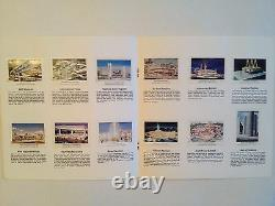 1964-65 New York World's Fair Complete Collector's Stamp Album (very rare)