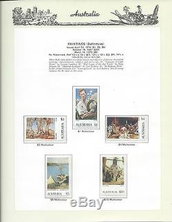 1966 to 1989 Complete Stamp Collection in Seven Seas Hingeless Album