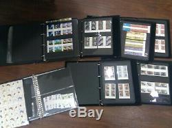 1971 2008 UNFOLDED GUTTER PAIR COLLECTION 7 albums FV£2530 MNH