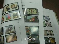 1971-2015 Commemorative Definitive Mini Sheet Collection 4 Album Fv Mnh £1900