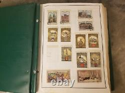 1978-85 600+ Russia Stamp Collection In Album Mh/used Stamps