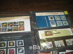 2000-2010 Collection Presentation Packs Fv£450 Commemoratives 2 Albums