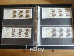 2012 London Olympics and Paralympic complete stamp collection in album