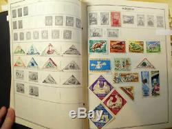 2800+ worldwide stamp 1840s-1970 collection Harris Standard Album M-Z countries