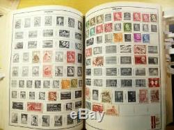 2900+ worldwide stamp collection 1840s-1970 Harris Standard Album A-M countries