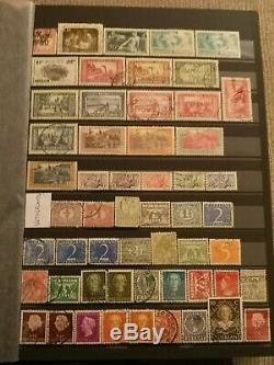 3500+ Worldwide Stamp Collection in Album, Great Starter, Catalog Value £1500+