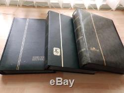 (3631) Large Commonwealth Stamp Collection In 3 Stock Albums