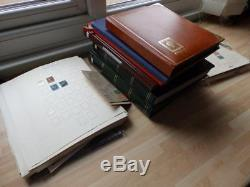 (3662) Large GB & Commonwealth Stamp Collection In 6 Albums + Pages