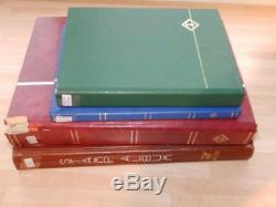 (3829) GB Stamp Collection M & U Plenty Of Qv In 4 Stock Albums