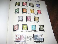 4 Albums 1971-2011 Commem Defin Regional Stamp Collection Fv£1740