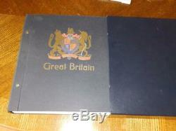 (4516) GB Stamp Collection In Sg Davo Album 2000-2012 With Slipcase