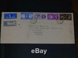 (4815) GB COLLECTION M & U IN STOCK ALBUM, EARLY F. D. C's, PACKS etc