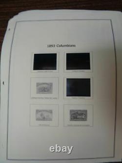 $500+ Face value Postage MINT US collection Mystic album pages mounts 1893-1999