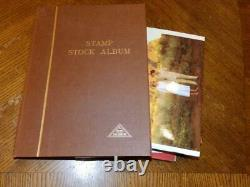 (5119) GB Stamp Collection Qv Onward M & U In Stock Album