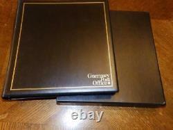(5315) Guernsey + Alderney Collection In Lindner Hingeless Album