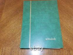 (5867) Excellent Commonwealth Collection In 64 Side Schaubek Stock Album