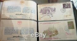 74 Stamps collection album Juegos Olimpicos Moscú 1980
