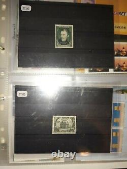 A Very Large Rare Stamp Collection 4 Albums Total With Additional Stamps 6.5kg