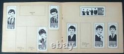 A&bc-popstars Fab Photo Stamps Album+52 Stamps Stuck In All Scanned Beatles