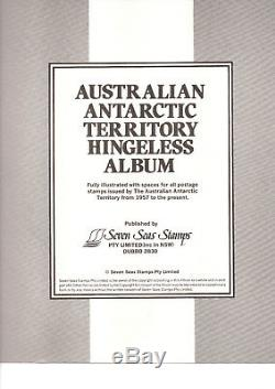AAT complete collection 1957 1991 stamps, MNH in Green SS Hingeless Album+Slip