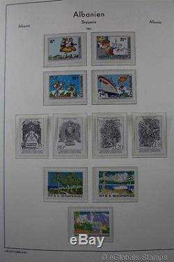ALBANIA MNH 1980-1998 Partly Complete Stamp Collection Lighthouse Album
