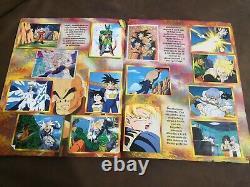 Album Dragon Ball Z 3 MÉXICO Navarrete Old Retro Full complete stamps Super rare