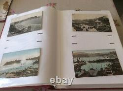 Album Of 200 Scarborough Postcards 1900/1936 Many Written And Stamped