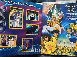 Album Saint Seiya 2 Caballeros Del Zodiaco Complete Full Stamps navarrete 1996