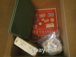 Amazing box lot full of Stamp Albums/Collections + more HIGH CV HOURS OF FUN