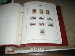 Australia 1984-9 Complete MNH Collection in Leuchtturm Hingeless Album