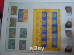 Australia Comprehensive Mint And Used Collection In 4 Linder Hingeless Albums