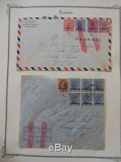 BAHRAIN Absolutely Beautiful, almost all MOG collection on album pgs Cat $566