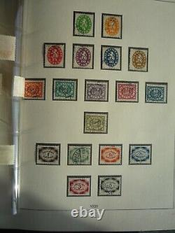 BAYERN 1849/1920 Collection in Brown Lindner Album CV +10669 USD