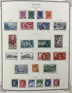 BJ Stamps FRANCE, 1849-1993, in Scott album, mixed MNH, Mint & used.'17 $2297