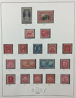 BJ Stamps UNITED STATES collection, 1893-1974, SAFE album, Mint or Used