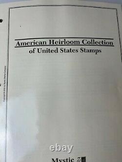 BOB4STAMPS BIG LOT U. S STAMP AMERICAN HEIRLOOM COLLECTION 1847-2012 x4 ALBUMS