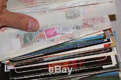 BOX Lot 9 WW STAMP COLLECTION 31 PoundsUN GHANA, ALBUMS! ETC MAKE OFFER