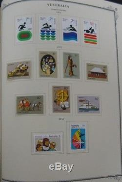 BRITISH COMMONWEALTH/COLONIES A-Z COLLECTION, 11 albums Scott $22,142.00